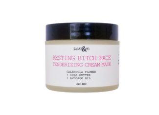Resting Bitch Face Tenderizing Cream Mask