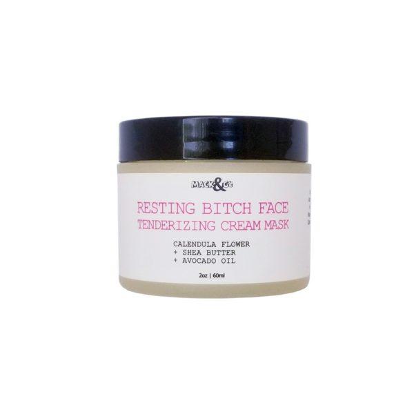 Resting Bitch Face Calendula Cream Facial Mask
